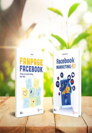 BỘ SÁCH FACEBOOK MARKETING 4.0 VÀ FANPAGE FACEBOOOK