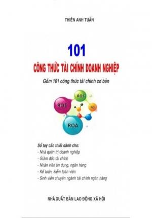 101 công thức tài chính doanh nghiệp
