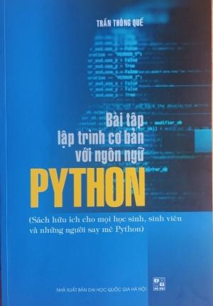 Sách – bài tập lập trình cơ bản với ngôn ngữ Python (Trần Thông Quế)