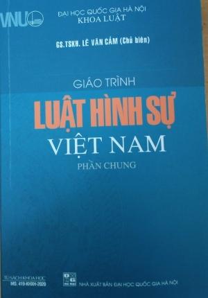 Sách – Giáo Trình Luật Hình Sự Việt Nam Phần Chung (Đại Học Quốc Gia Hà Nội)