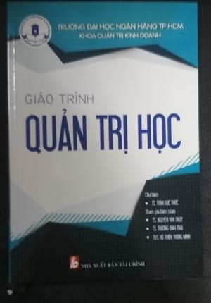 Sách – Giáo Trình Quản Trị Học (Trường Đại Học Ngân Hàng TPHCM)