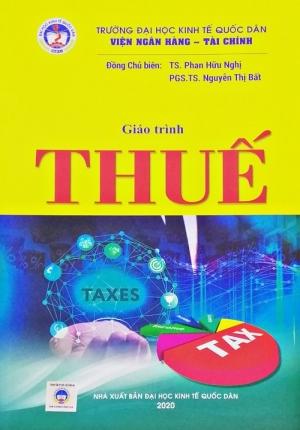 Sách - giáo trình thuế (Đại học kinh tế quốc dân)