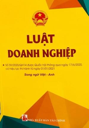 Sách – Luật Doanh Nghiệp Có Hiệu Lực Thi Hành Từ 01/01/2021 (Song Ngữ Anh – Việt)