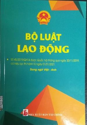 Sách – Bộ Luật Lao Động Có Hiệu Lực Thi Hành Từ 01/01/2021 (Song Ngữ Anh Việt)